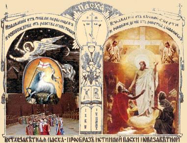 Картинки по запросу Ветхозаветная Пасха и Новозаветная Пасха