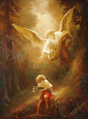 Ангел при крещении фото