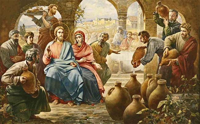 чудо христа молится