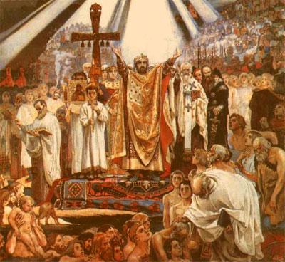 В каком году произошло крещение на руси