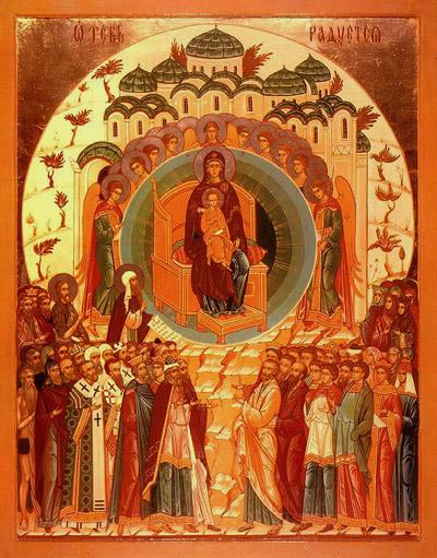 На второй день праздника рождества христова (8 января по новому стилю) православная церковь отмечает праздник собора