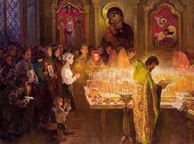 Молитва за упокой всех умерших